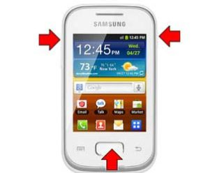 How to factory reset Samsung GT-S5301