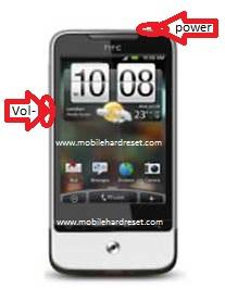 hard reset HTC Legend