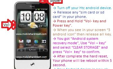 Photo of How to hard reset HTC Legend