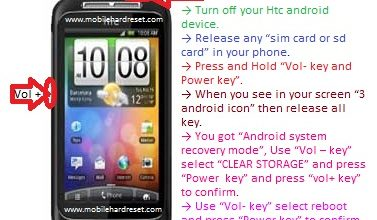Photo of How to hard reset HTC Wildfire