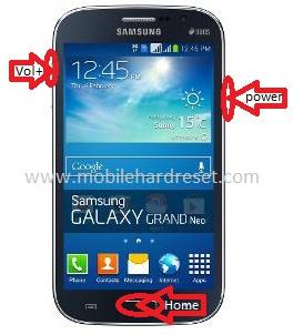 How to hard reset Samsung Galaxy Grand Neo GT-I9060 Dual SIM