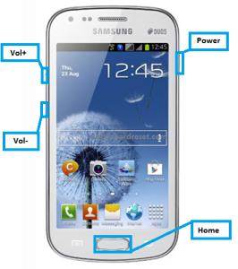 Samsung galaxy S Duos S7562 hard reset