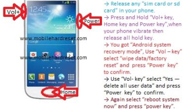 Photo of How to hard reset Samsung galaxy s4 mini I9190