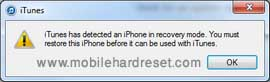 hard reset iPhone 5,5s,5c