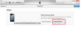 hard reset iPhone 5,5s,5c
