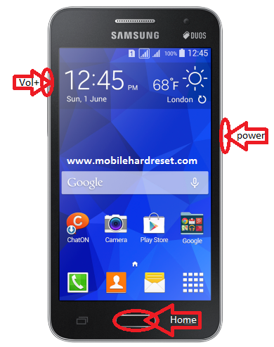 How to hard reset Samsung Galaxy Core 2 GT-G355H