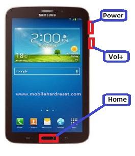 Hard Reset Samsung Tablet
