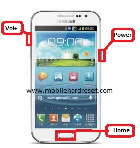 hard reset Samsung Galaxy Win I8550