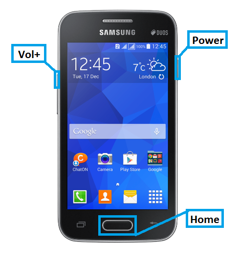 How to hard reset Samsung Galaxy Ace NXT