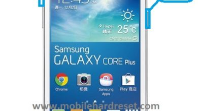 hard reset samsung galaxy core plus