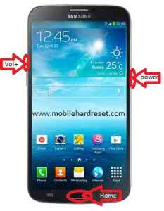 How to hard reset Samsung Galaxy S5 Mini