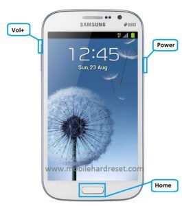how to hard reset Samsung galaxy grand dous i9082