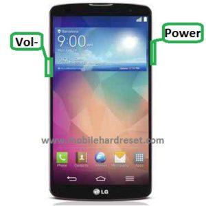 LG G Pro 2 hard reset
