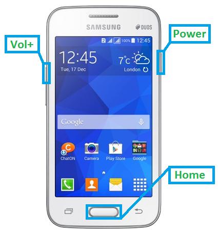 Samsung Galaxy V Hard Reset