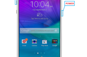 samsung galaxy note 4 hard reset