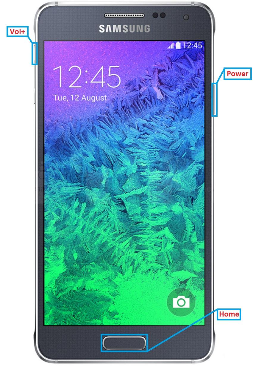 Samsung Galaxy Alpha Hard Reset