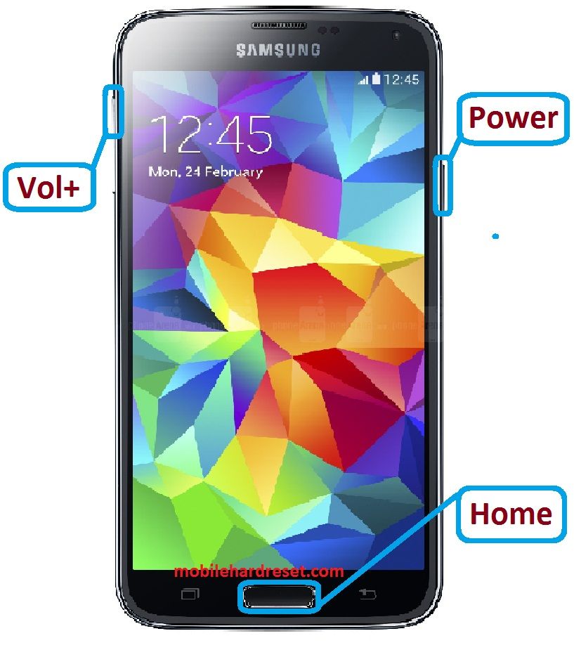 how to reset samsung galaxy s5