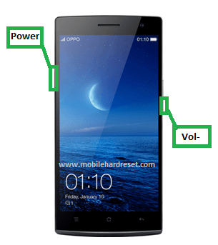 Photo of Oppo Find 7a Hard Reset Solution