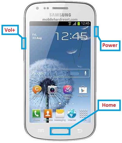 Samsung Galaxy Trend Plus S7580 Hard Reset