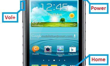 Samsung Galaxy Xcover 3 hard reset