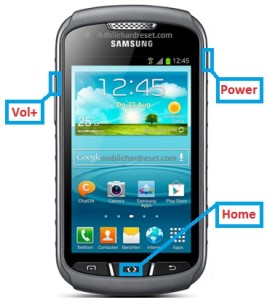 Samsung Galaxy Xcover 3 hard reset