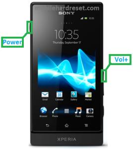 Sony Xperia Sola MT27I Hard Reset