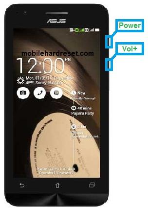 Asus Zenfone C ZC451CG hard Reset