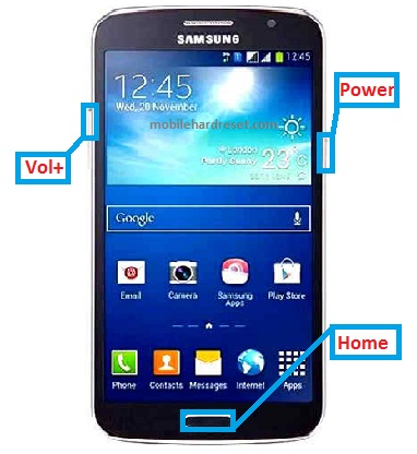 Samsung Galaxy Grand 2 G7102 Hard Reset