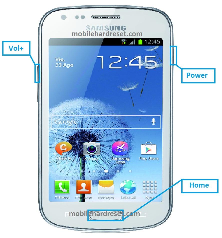 Samsung Galaxy Trend S7560 Hard Reset