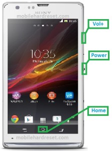 sony xperia sp hard reset