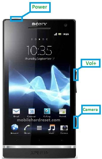 Sony Xperia SL LT26ii Hard Reset
