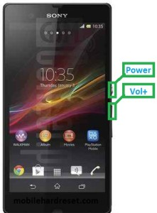 sony xperia z l36a hard reset