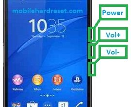 Photo of Sony Xperia Z3 D6643 Hard Reset