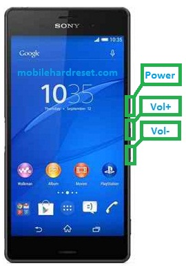 Photo of Sony Xperia Z3 D6653 Hard Reset