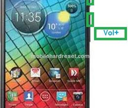 Photo of Motorola RAZR I XT890 Hard Reset