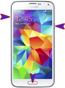 Samsung Galaxy S5 LTE A G901F