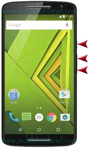 How to Hard Reset Motorola Moto X Play