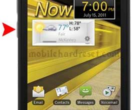 Samsung Conquer 4G reset