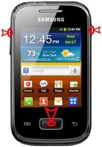 Samsung Galaxy Duos GT S5302 reset