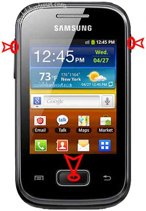 Samsung Galaxy Duos GT S5302