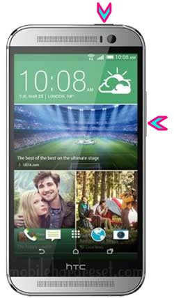 How to Hard Reset HTC One M8 Dual Sim Smartphone