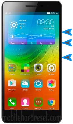 How to Hard Reset Lenovo A7000 Smartphone