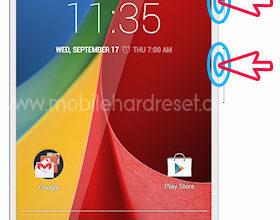 Photo of Motorola Moto G 3rd Generation Reset Way
