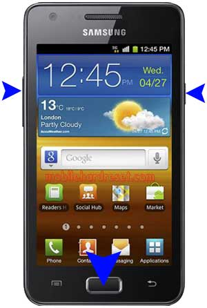 How to Hard Reset Samsung I9103 Galaxy R