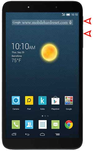 How to Hard Reset Alcatel One Touch Pixi 2 Smartphone