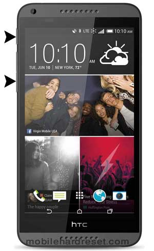 How to Hard Reset HTC Desire 816 with Factory Reset