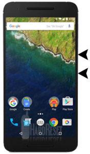 Huawei Nexus 6P hard reset