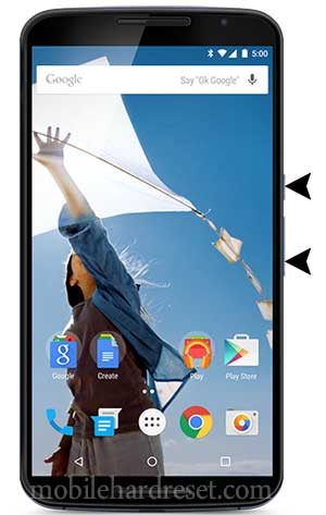 How to Hard Reset Motorola Nexus 6 with Factory Reset