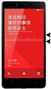 redmi note hard reset
