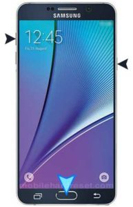 Samsung galaxy note 5 hard reset
